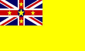 Niue Large Country Flag - 3' x 2'.